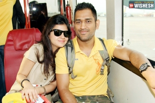 Dhoni blessed with baby girl