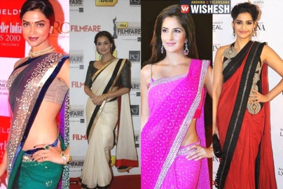 How To Drape A Saree To Look Slim