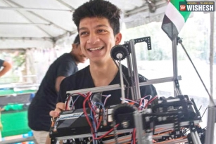 Indian Students Bag Two Awards At First Global Robotics Olympiad In US
