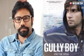 Gully Boy Remake: Sandeep Vanga to Direct