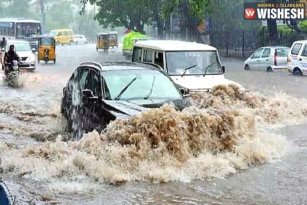 Heavy Rains Make Life Miserable in Hyderabad