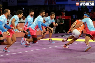 Jaipur Pink Panthers Beat Puneri Paltan 33-27