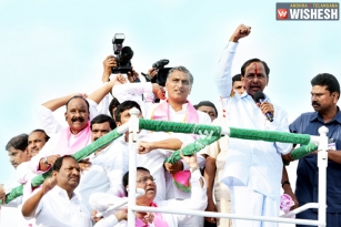 KCR Challenges T Congress: Receives a Warm Welcome