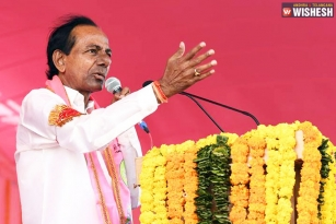 KCR Makes Fun Of Chandra Babu