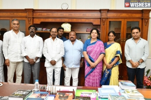 Six New Ministers Inducted Into KCR's Cabinet