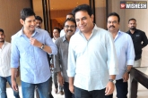 KTR Interacts With Mahesh Over Bharat Ane Nenu