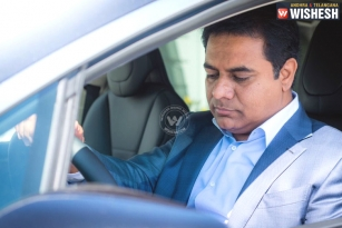 KTR Rushes to New Delhi