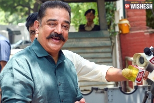 Kamal Meets Sonia: Says Too Early About Alliance