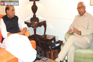 J&K Governor Meets Rajnath; Discusses Kashmir Situation