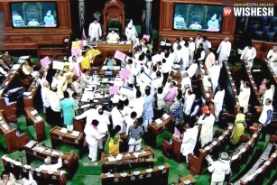 Another Day Of Adjournment For Lok Sabha
