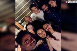 Mahesh And Tarak Party Together
