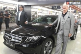 Merc Launch, E220d Variant, merc benz launches e220d variant in india at rs 57 14 lakh, Pune