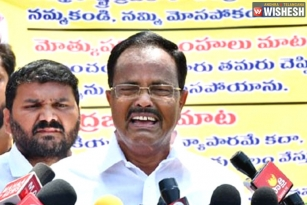 Motkupalli Narasimhulu Slams Chandra Babu: Feels He Is Left Away