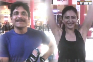 Watch: Manmadhudu 2 Leads Nagarjuna and Rakul Preet Singh's Funny Video in Gym Is Too Cheery to Give a Miss