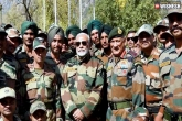Modi Spends Time With Soldiers During Diwali