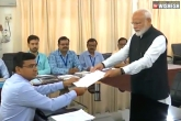 Narendra Modi Files his Nomination from Varanasi