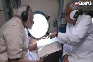 PM Modi Conducts Aerial Survey, Announces Rs 500 Crore Relief For Flood-Hit Bihar