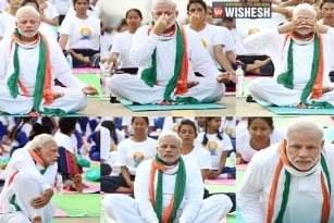 PM Modi Participates in Yoga Event at Chandigarh