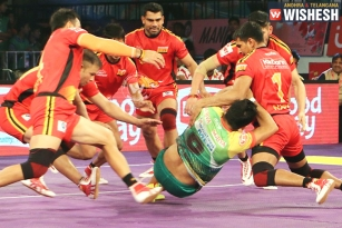 Patna Pirates Won Against Bengaluru Bulls 31-25