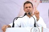 Rahul Gandhi To Start Political Campaign In TS Today