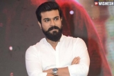 Ram Charan latest, Ram Charan on sets of Syeraa, ram charan surprises the team of syeraa, Surprise
