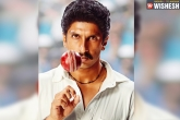 Ranveer Singh new, Kapil Dev biopic, first look ranveer singh surprises as kapil dev, Surprise