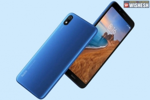 Redmi 7A Launched in India
