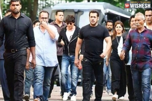 Salman shoots for his Cameo in SRK's Next