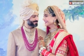 Sonam Kapoor, Sonam Kapoor wedding, official now sonam kapoor ties knot with anand ahuja, Wedding
