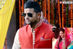 Suresh Raina to tie the knot today