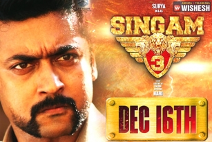 Suriya's Upcoming Flick 'S3' to Release on Dec 16