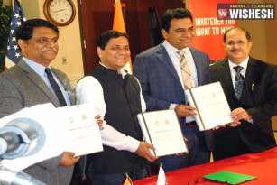Telangana Signs MoU With Illinois to Attracting Investments