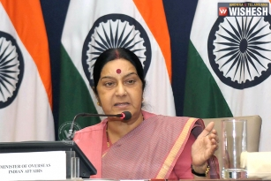 Sushma Swaraj Directs To Save 29 Telangana Workers From Captivity in Saudi Arabia