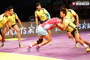 Telugu Titans Beat Jaipur Pink Panthers 35-23; Reached Semis