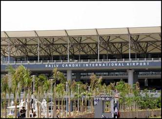 Hyderabad Airport goes social