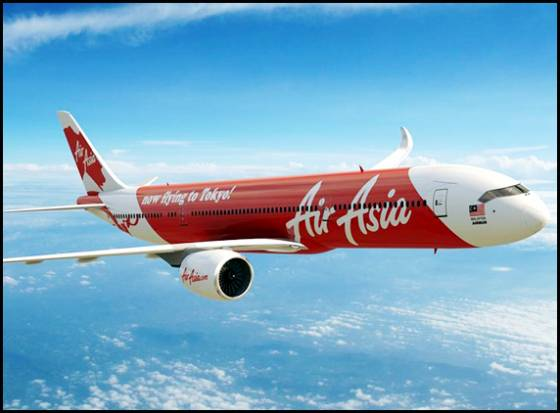 AirAsia flight has crashed?
