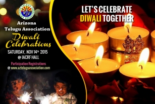 AZTA (Arizona Telugu Association) Diwali celebrations