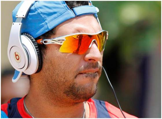 Yuvraj Singh addresses media after his return