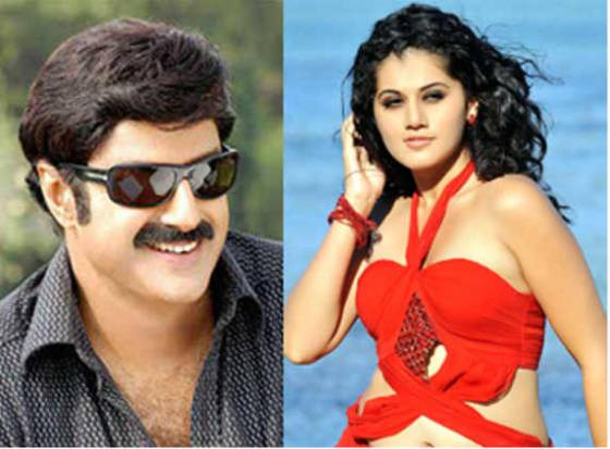 Tapsee not Balayya's choice.