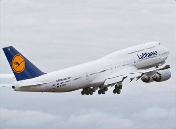 Lufthansa&#039;s newest Boeing (747-8) to ply between Delhi and Frankfurt