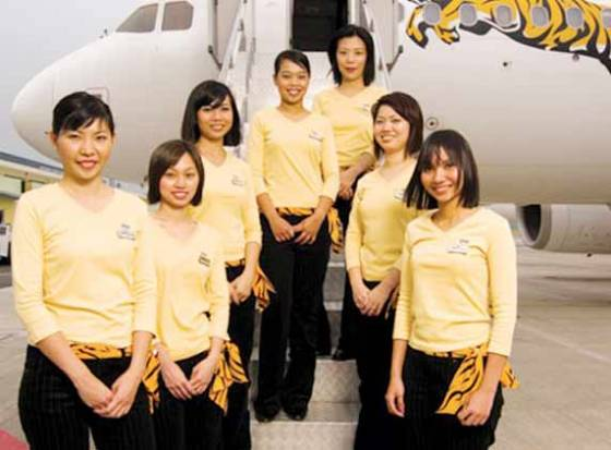 Fly Tiger Airways for economy &amp; elegance