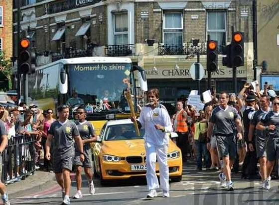 Indian Pride at London Olympics 2012, Amitabh