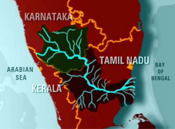Water struggle by Tamil Nadu