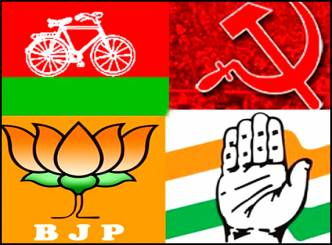 Rs 1381 crores income of political parties!
