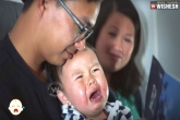 Discount if baby cries on plane