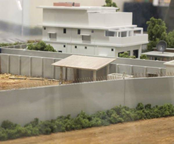 Bin Laden house model revealed by Pentagon