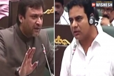 Owaisi KTR comments in Telangana assembly, Telangana farmer suicides, farmer suicides owaisi counters ktr argues reddy explains, Farmer suicides in ap