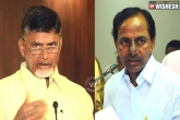 KCR, Naidu fires at each other after long
