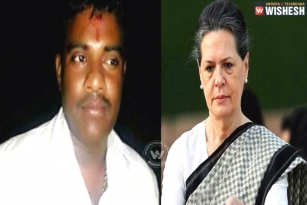 Sonia Gandhi fan, drops finger in Tirumala Hundi