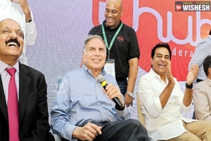 T-hub launched, Ratan Tata gives open offer